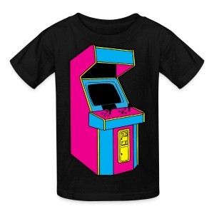 Stand Up, Old School Arcade Game (CMYK) - Kids' T-Shirt