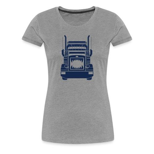 Trucker Teeth - Women's Premium T-Shirt