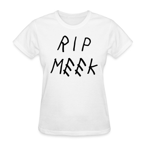 RIP MEEK women tee - Women's T-Shirt