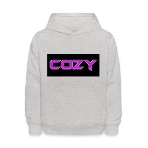 Light Grey CoZy Clan Hoodie - Kids' Hoodie