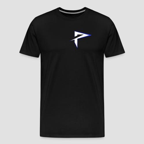Pyrrhic small symbol T- Shirt - Black - Mens - Men's Premium T-Shirt
