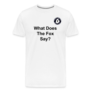 FARC Logo What Does The Fox Say? - Men's Premium T-Shirt