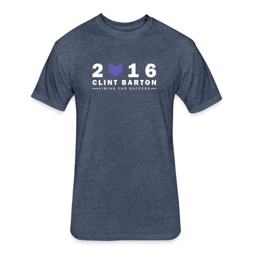 Clint Barton 2016 - Fitted Cotton/Poly T-Shirt by Next Level