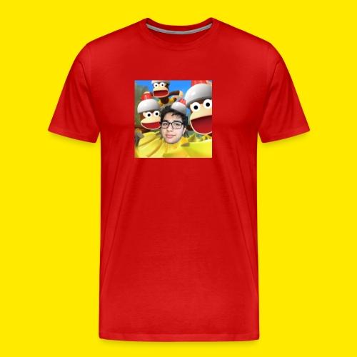 YUSBOY BOX LOGO APE ESCAPE 3 EDITION - Men's Premium T-Shirt