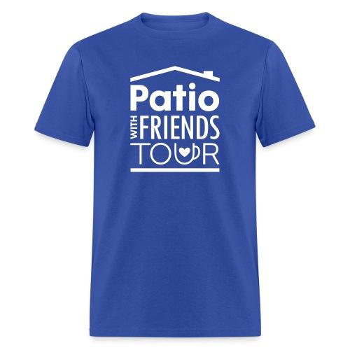 Patio Men's Tee (White) - Men's T-Shirt