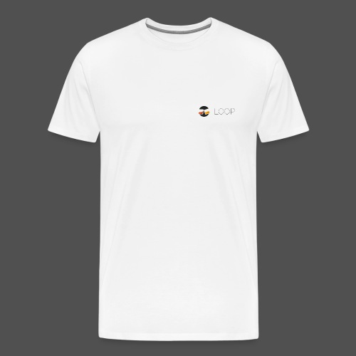 White Original LOOP - Men's Premium T-Shirt