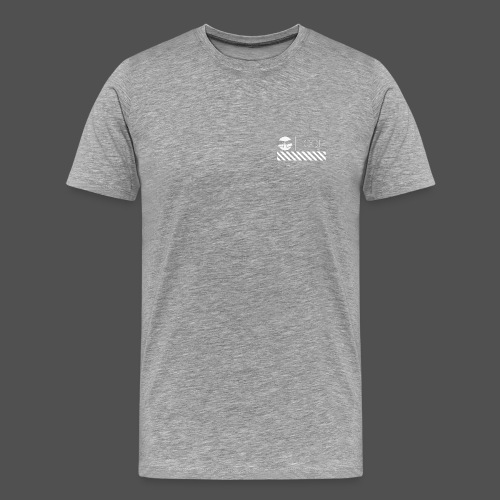 Grey Basic LOOP - Men's Premium T-Shirt