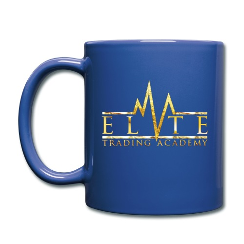 Elite Trading Mug - BLUE - Full Color Mug