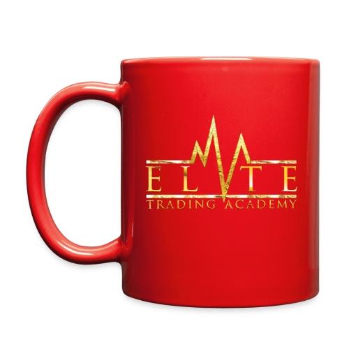 Elite Trading Mug - RED - Full Color Mug