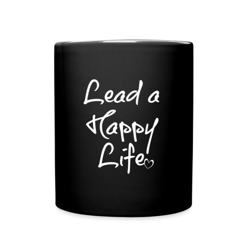 LEAD A HAPPY LIFE MUG - Full Color Mug
