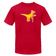 T-Shirts ~ Men's T-Shirt by American Apparel ~ [sirvelociraptor]