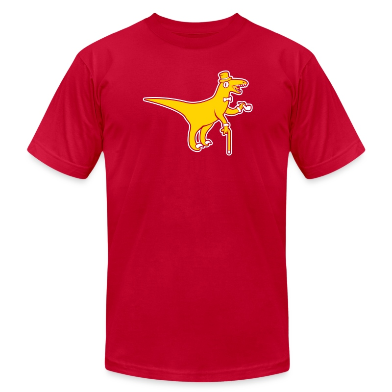 [sirvelociraptor] - Men's T-Shirt by American Apparel