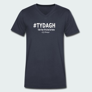 TYDAGH - Men's V-Neck T-Shirt by Canvas