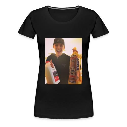 Milk and Bread Women's Shirt - Women's Premium T-Shirt