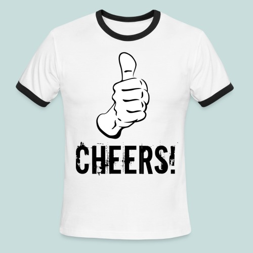 Cheers! - Men's Ringer T-Shirt - Men's Ringer T-Shirt
