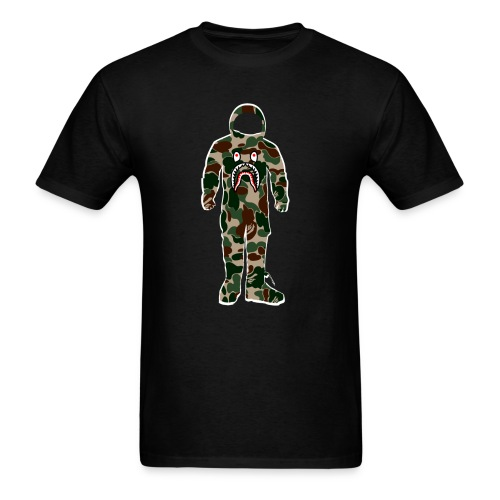 Camo Moon Man - Men's T-Shirt