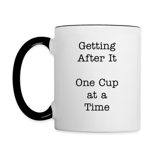 Getting After It Mug - Contrast Coffee Mug