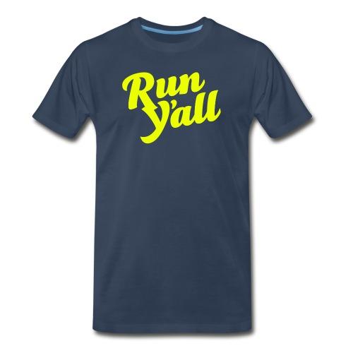Run Y'all (T-shirt) - Men's Premium T-Shirt