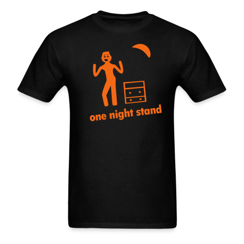 one night stand - Men's T-Shirt