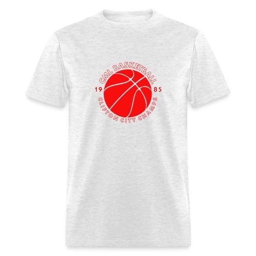 Men's CML Basketball 1985 CITY CHAMPS T-Shirt - Men's T-Shirt