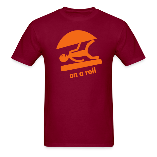 on a roll - Men's T-Shirt