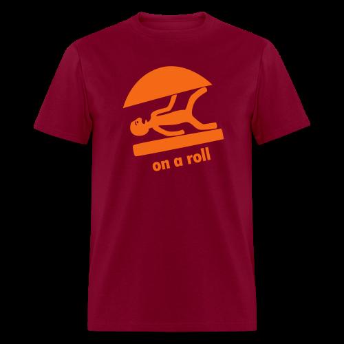on a roll - Men's T-Shirt