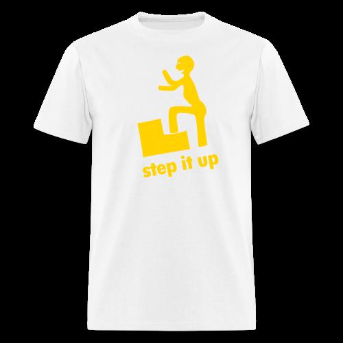 step it up - Men's T-Shirt