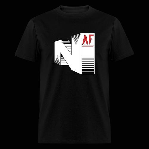 Nerdy AF Logo Men's - Men's T-Shirt