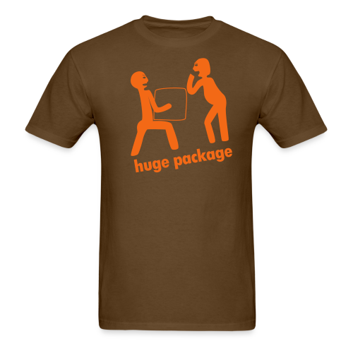 huge package - Men's T-Shirt