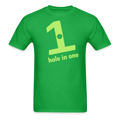 hole in one - Men's T-Shirt