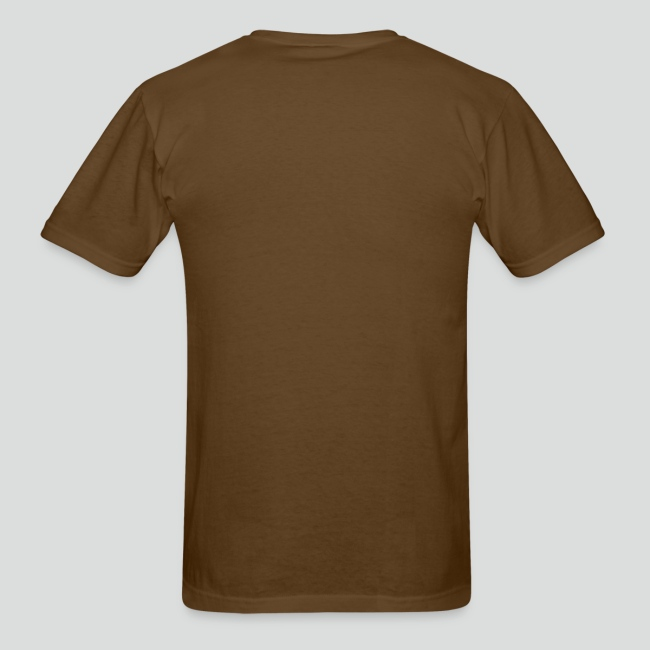 Men's T-Shirt (Tan Logo)