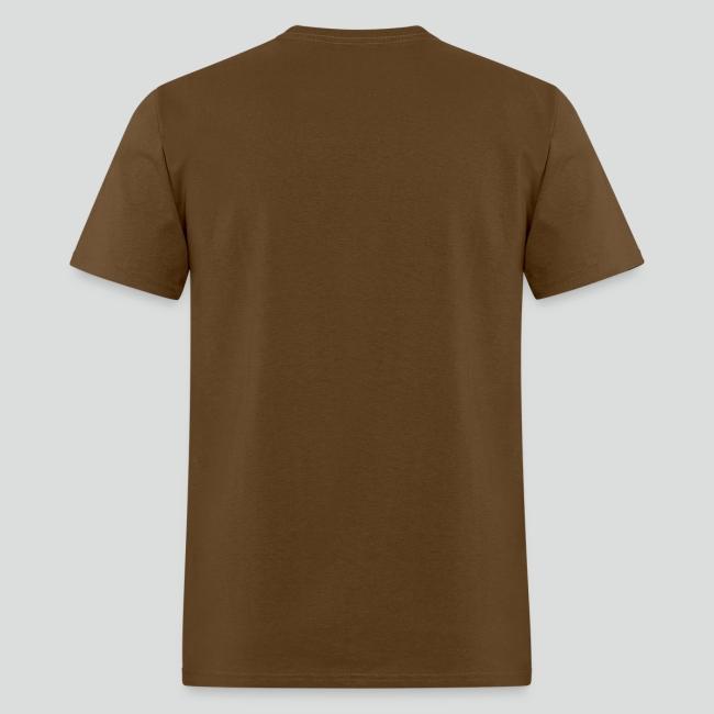 Men's T-Shirt (Tan Logo)