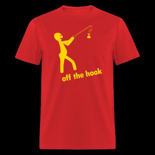 off the hook - Men's T-Shirt