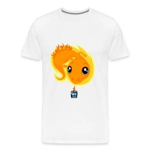 Men's Premium WB's Fire Dragon T-Shirt - Men's Premium T-Shirt