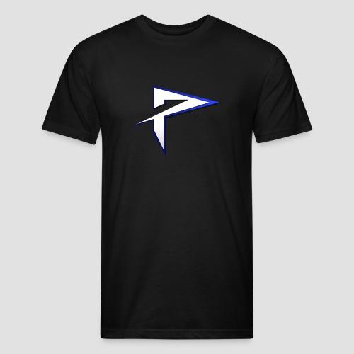 Pyrrhic T- Shirt Slim - Black - Mens - Fitted Cotton/Poly T-Shirt by Next Level
