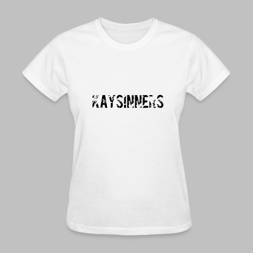 White Kaysinners T - Women's - Women's T-Shirt