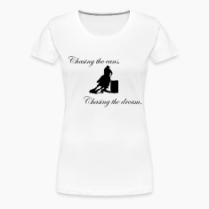 Chasing the cans, chasing the dream. Women's T-Shirts