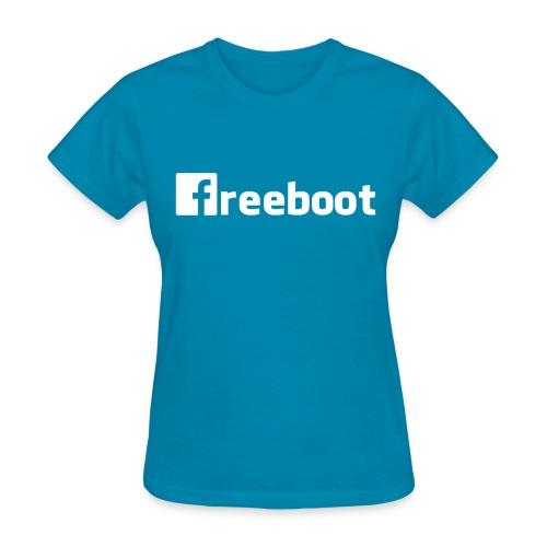 Facebook: freeboot (Women's Shirt) - Women's T-Shirt