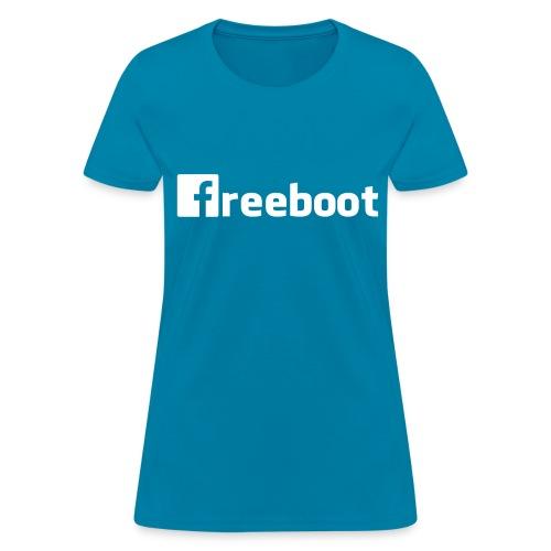 Facebook: freeboot (Women's Shirt) - Women's T-Shirt