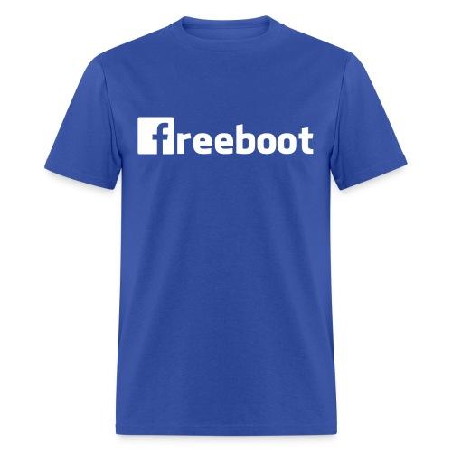 Facebook: freeboot (Men's Shirt) - Men's T-Shirt
