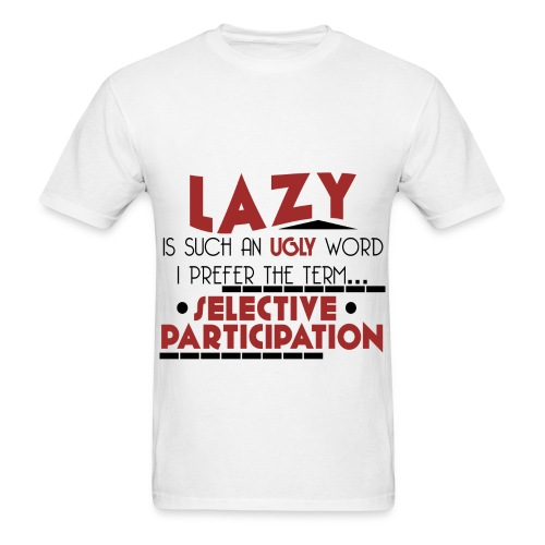 Lazy - Men's T-Shirt - Men's T-Shirt