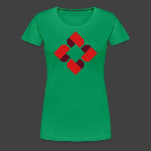 BTB Red Logo Tee - Female - Women's Premium T-Shirt