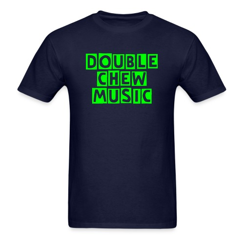 Double Chew Music Men's neon green Tshirt - Men's T-Shirt