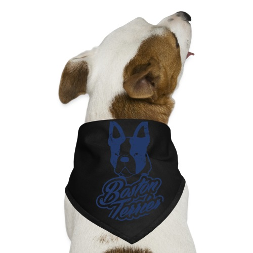 White Boston Terrier Dog Bandana - Dog Bandana