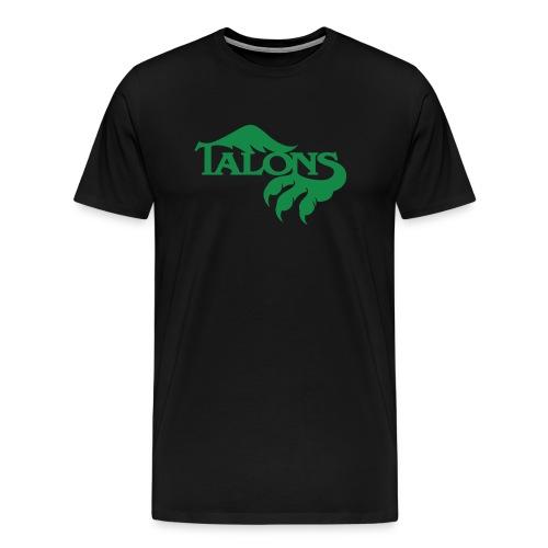 Green on Black - Men's Premium T-Shirt