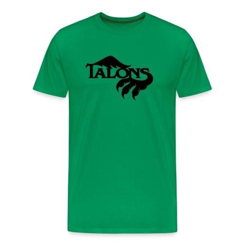 Black on Green - Men's Premium T-Shirt