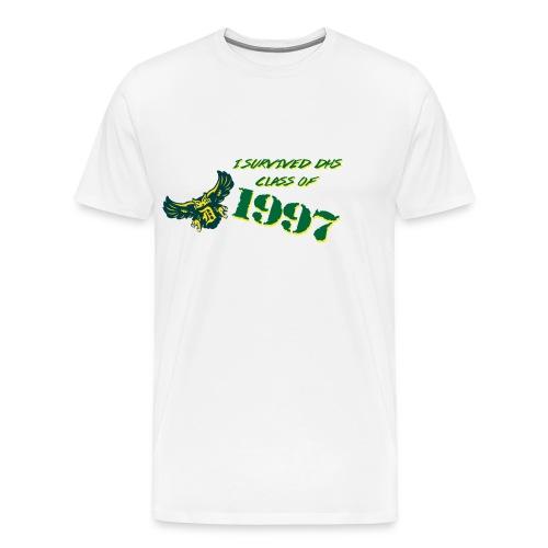 DHS Survived  - Men's Premium T-Shirt
