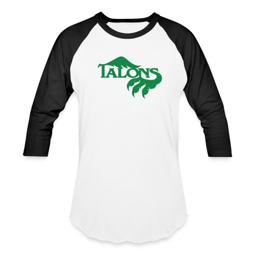 Green/Black Baseball - Baseball T-Shirt