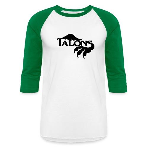 Black/Green Baseball - Baseball T-Shirt