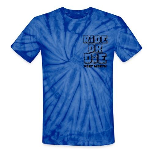 Ride or Die FW - TieDye T-shirt - Unisex Tie Dye T-Shirt